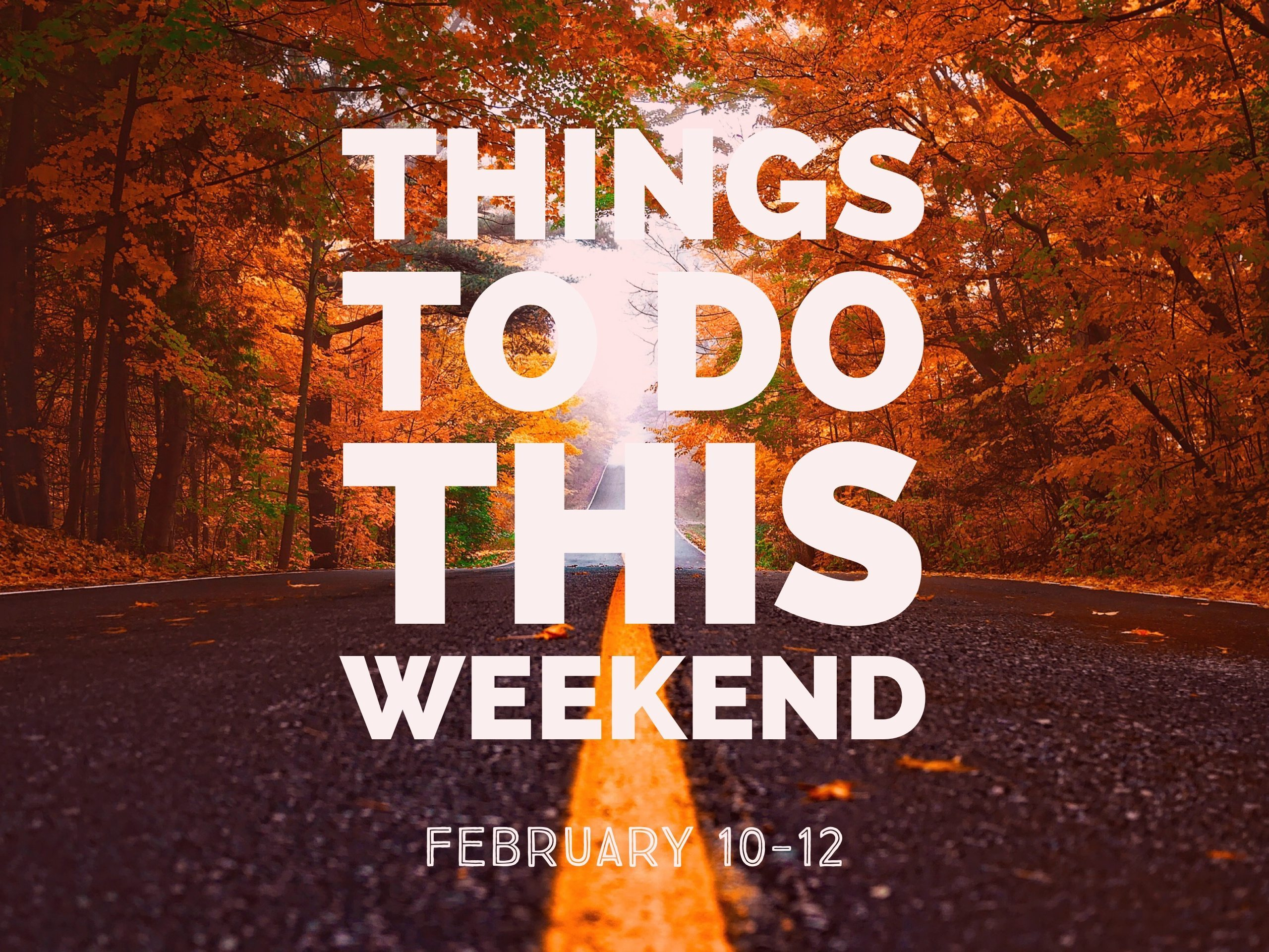 Things To Do This Weekend! – February 10-12