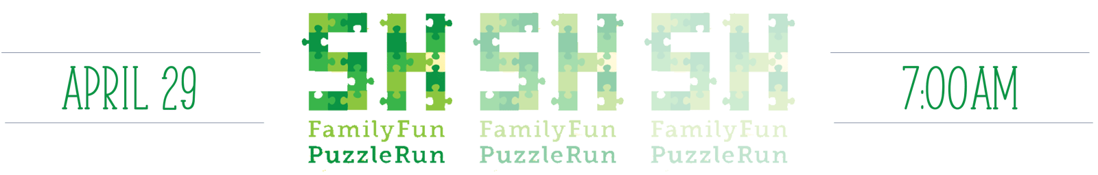 Family Fun Puzzle Run