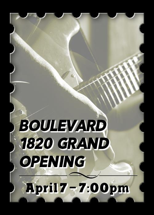Boulevard 1820 Grand Opening