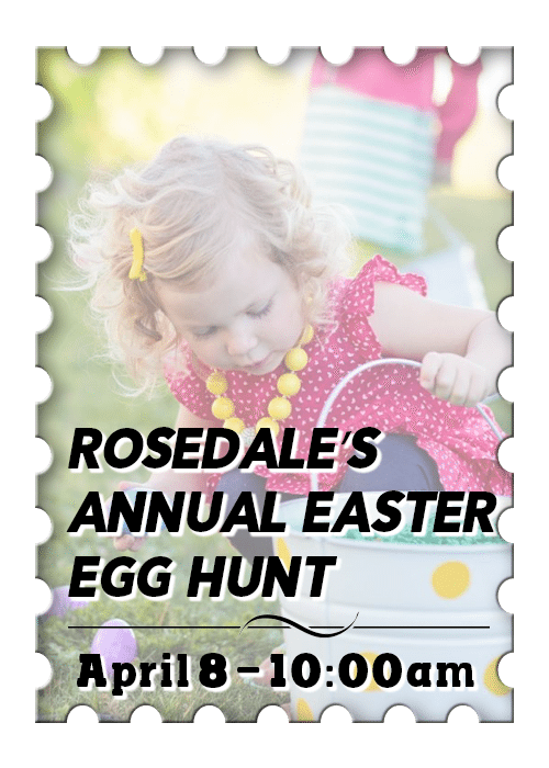 Historic Rosedale's Annual Easter Egg Hunt