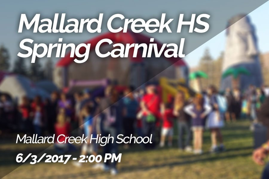Mallard Creek High School's Spring Carnival